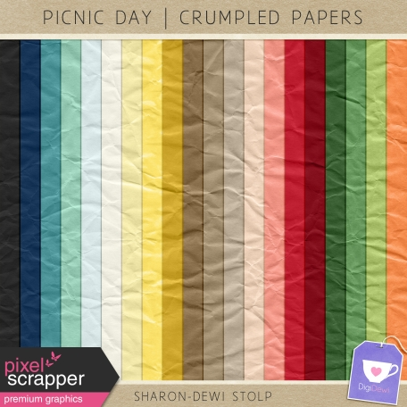 Picnic Day - Crumpled Papers