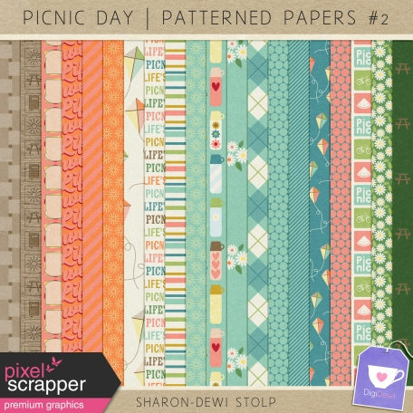 Picnic Day - Patterned Papers #2