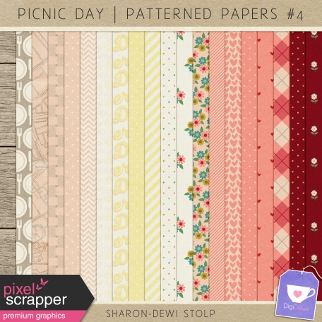 Picnic Day - Patterned Papers #4