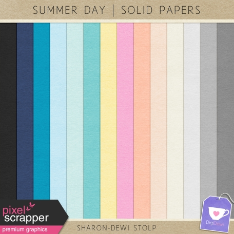 Summer Day - Solid Papers