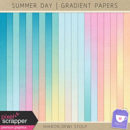 Summer Day - Gradient Papers