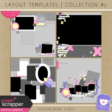 Layout Templates - Collection 2