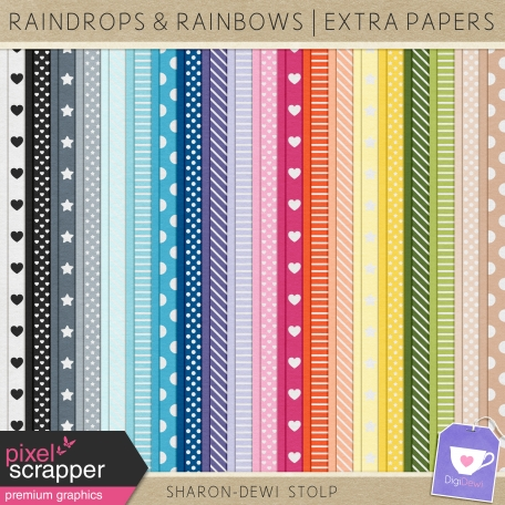 Raindrops & Rainbows - Extra Papers