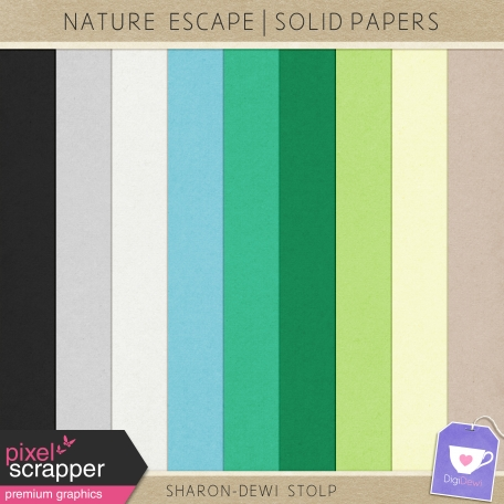 Nature Escape - Solid Papers