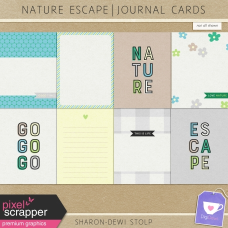 Nature Escape - Journal Cards