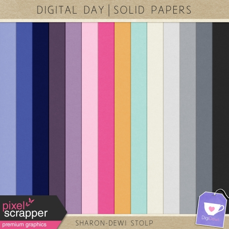 Digital Day - Solid Papers