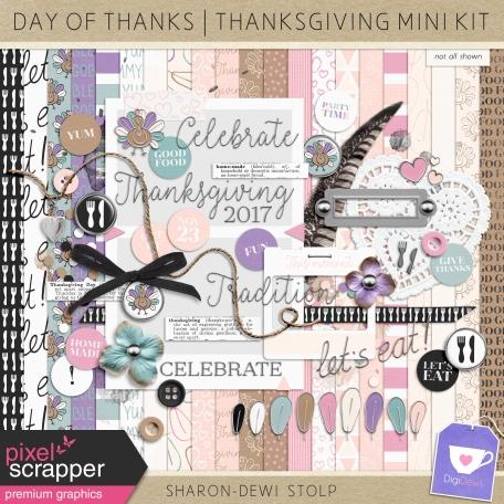Day of Thanks - Thanksgiving Mini Kit