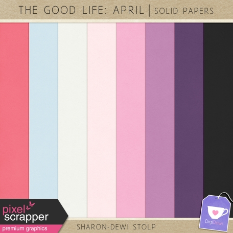 The Good Life: April - Solid Papers