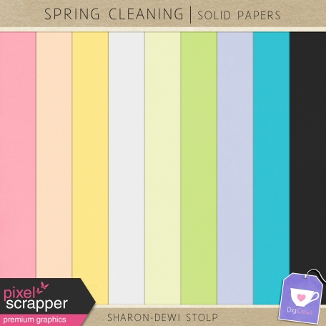 Spring Cleaning - Solid Papers