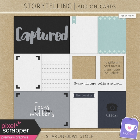 Storytelling - Add-On Cards