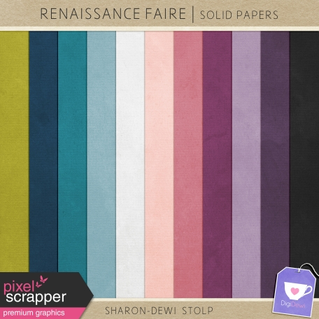 Renaissance Faire - Solid Papers