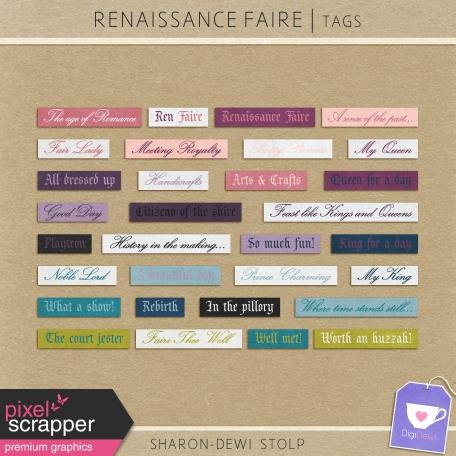 Renaissance Faire - Tags