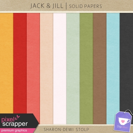 Jack & Jill - Solid Papers