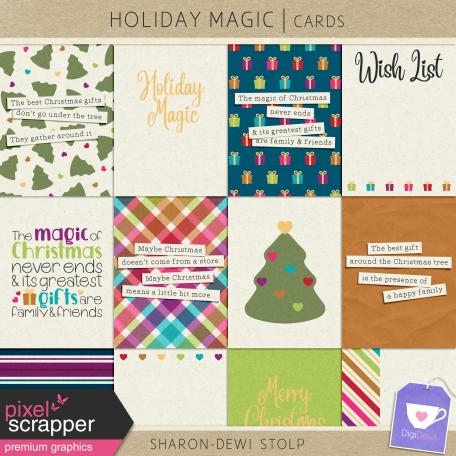 Holiday Magic - Cards