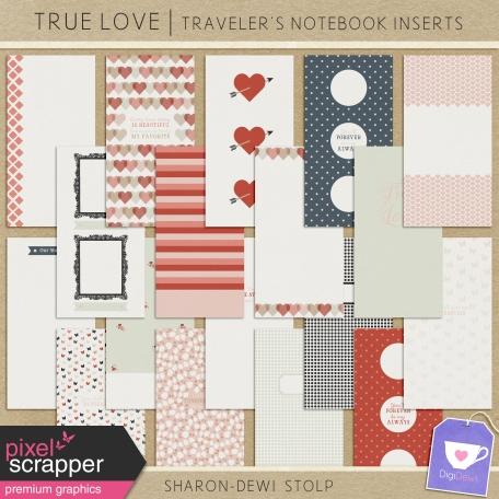True Love - Traveller's Notebook Inserts