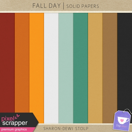 Fall Day - Solid Papers