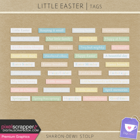 Little Easter - Tags