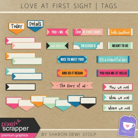 Love At First Sight - Tags