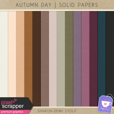 Autumn Day - Solid Papers