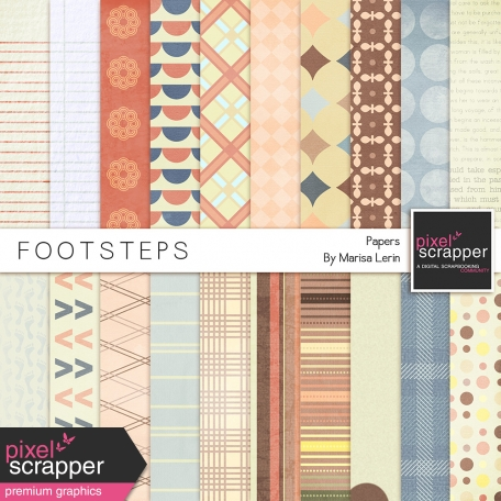 Footsteps Papers Kit