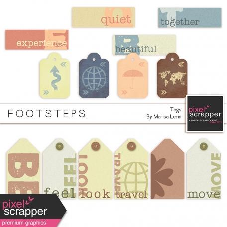 Footsteps Tags Kit