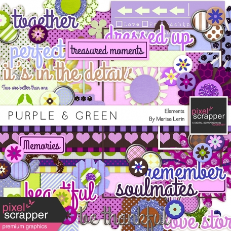 Purple & Green Elements Kit
