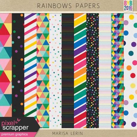 Rainbow Papers Kit #1