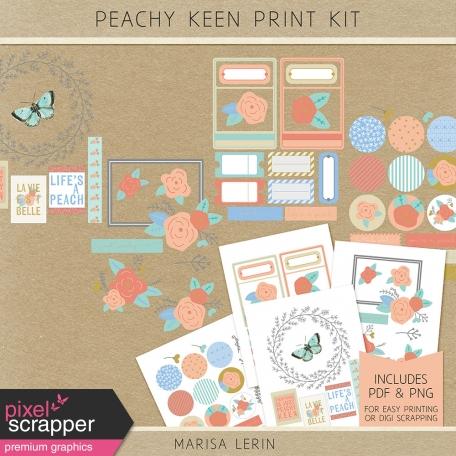 Peachy Keen Print Kit