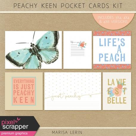 Peachy Keen Pocket Cards Kit