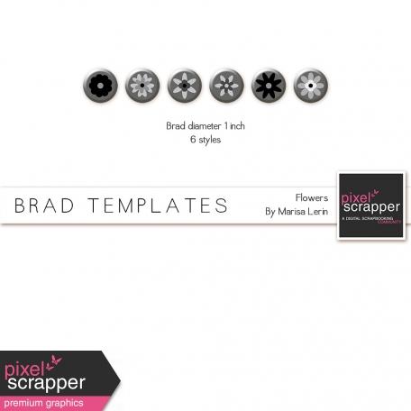 Brad Templates Kit #1 - Flowers
