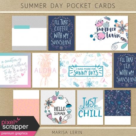 Summer Day Pocket Cards Kit