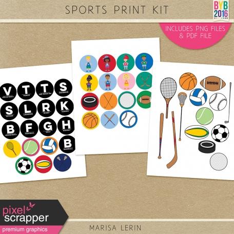 Sports Print Kit