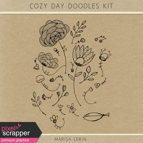 Cozy Day Doodles Kit
