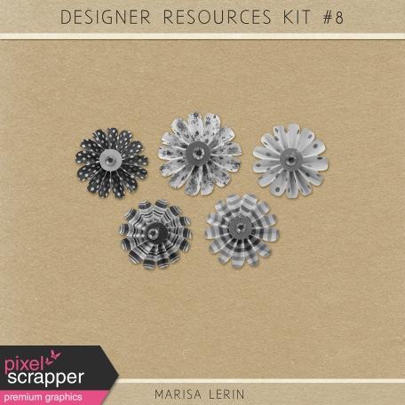 Resource Kit #8 - Paper Flowers