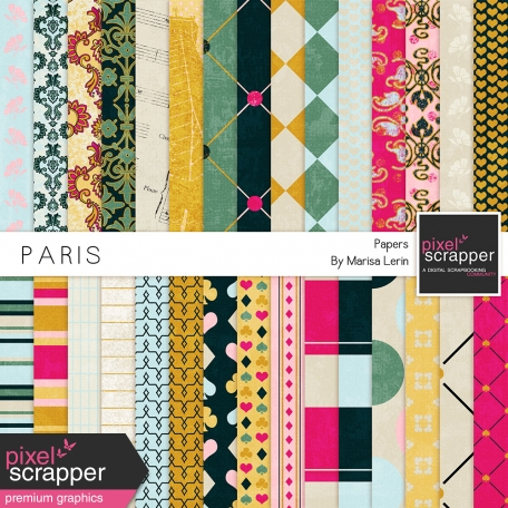 Paris Papers Kit