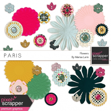 Paris Flowers Kit