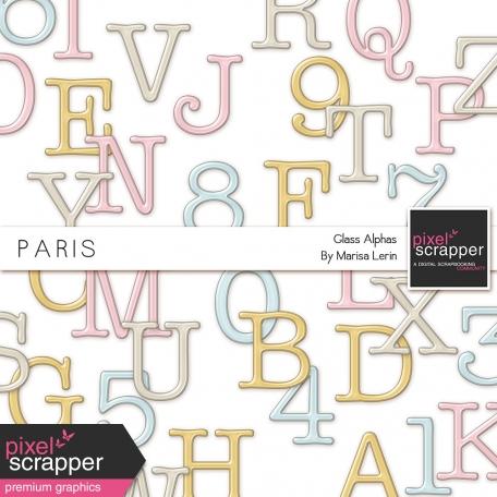 Paris Glass Alphas Kit