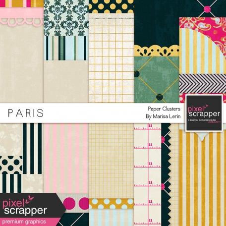Paris Backgrounds Kit