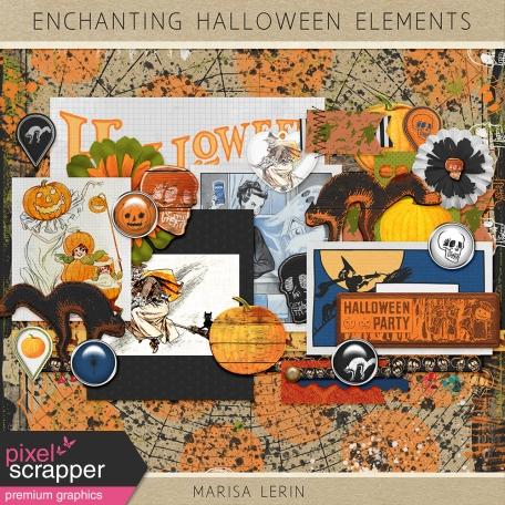 Enchanting Halloween Elements Kit
