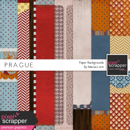 Prague Backgrounds Kit