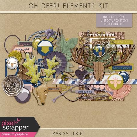 Oh Deer! Elements Kit