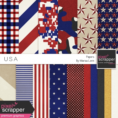 USA Papers Kit