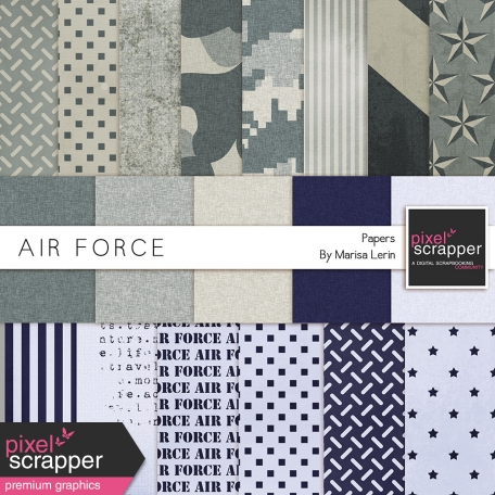 Air Force Papers Kit