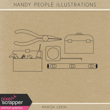 Handy People Illustrations Kit