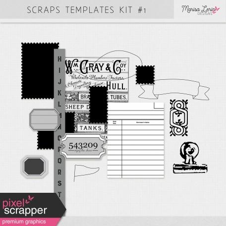 Scraps Templates Kit #1