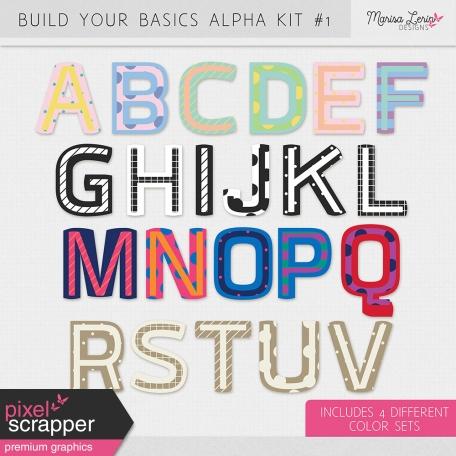 Build Your Basics Alpha Kit #1