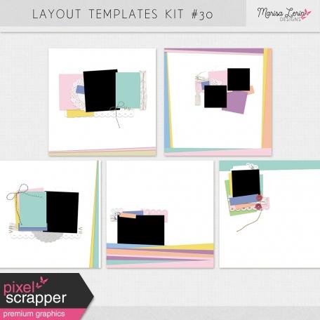 Layout Templates Kit #30