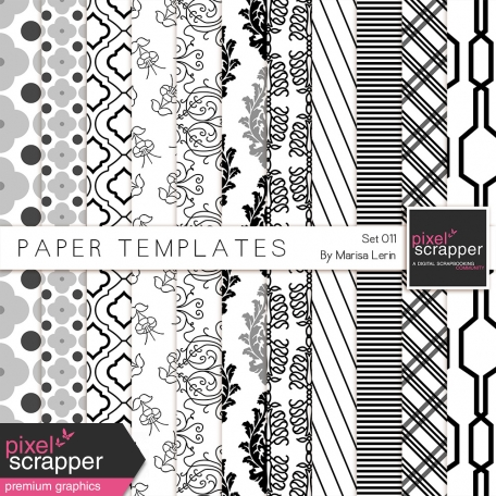 Paper Templates 011 Kit