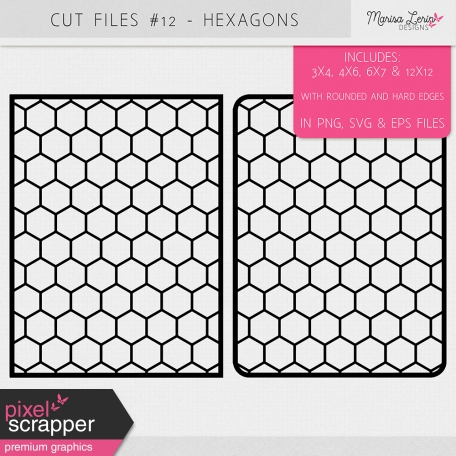 Cut Files Kit #12 - Hexagons