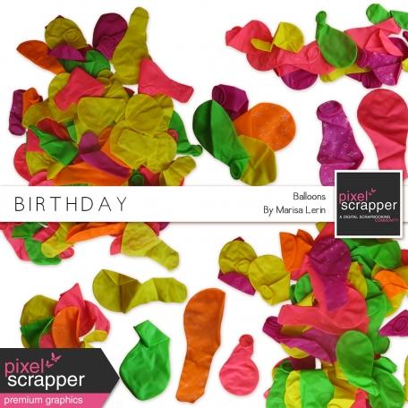 Birthday Balloons Kit